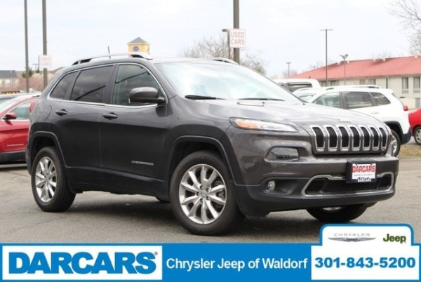 2016 Jeep Cherokee Limited 4wd For Sale In Waldorf Md Truecar