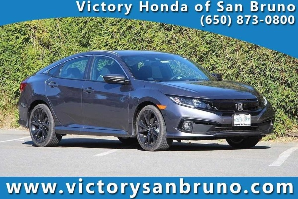 Honda San Bruno >> 2019 Honda Civic Sport Sedan Cvt For Sale In San Bruno Ca