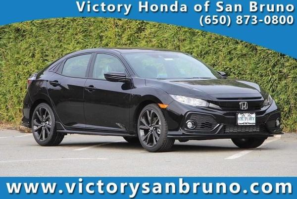Honda San Bruno >> 2019 Honda Civic Sport Hatchback Cvt For Sale In San Bruno
