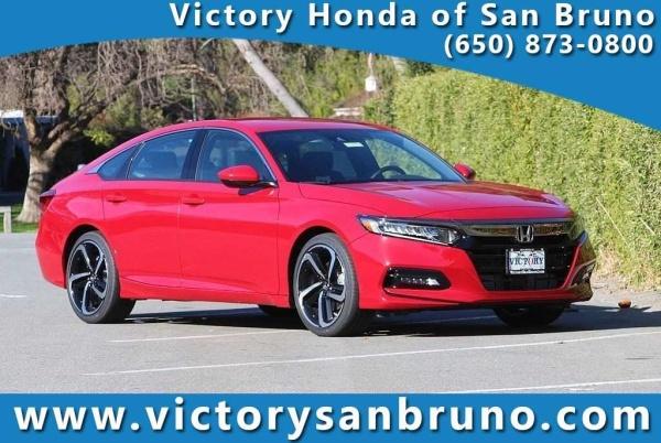 Honda San Bruno >> 2019 Honda Accord Sport 1 5t Cvt For Sale In San Bruno Ca