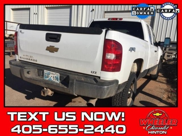 2009 Chevrolet Silverado 2500hd Lt Extended Cab Standard Box 4wd For