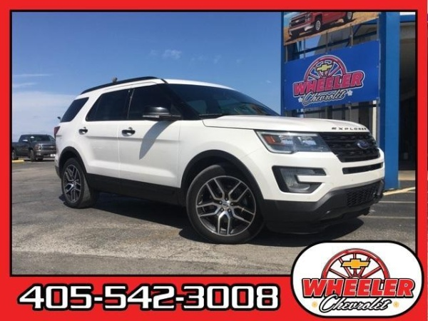 2016 Ford Explorer in Hinton, OK