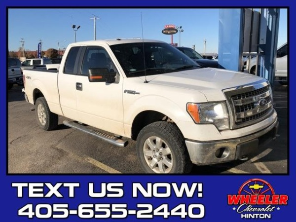 2014 Ford F 150 Xlt Supercab 163 4wd For Sale In Hinton Ok Truecar