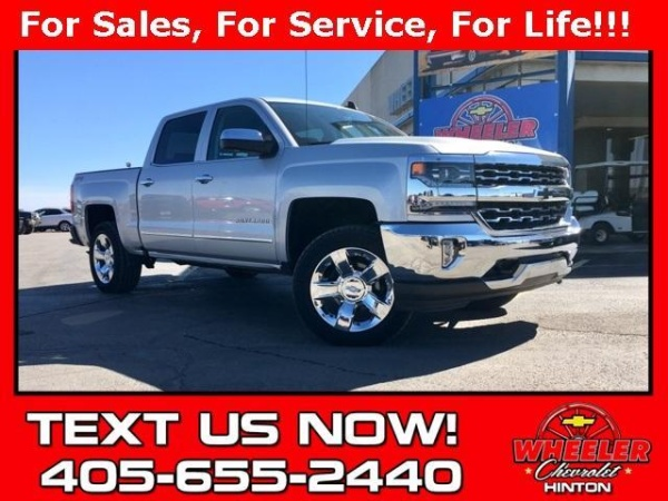 2017 Chevrolet Silverado 1500 Ltz Crew Cab Short Box 4wd For Sale In