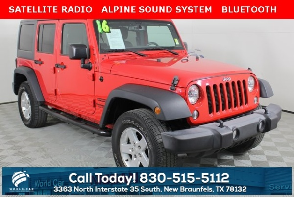 2016 Jeep Wrangler in New Braunfels, TX