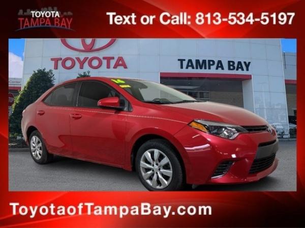 2016 Toyota Corolla in Tampa, FL