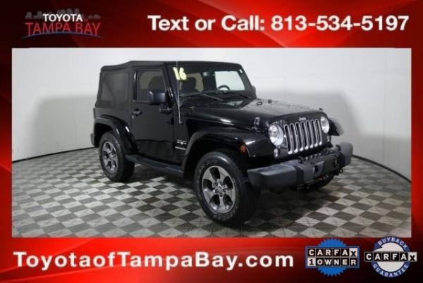 2016 Jeep Wrangler in Tampa, FL
