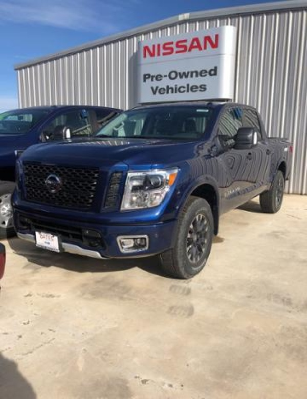 2019 Nissan Titan PRO-4X Crew Cab 4WD For Sale in Killeen