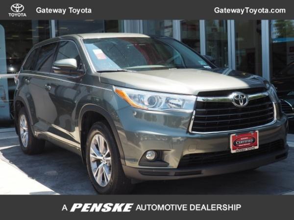 Toyota Toms River >> 2016 Toyota Highlander Le Plus V6 Awd For Sale In Toms River