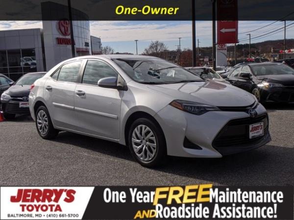 2019 Toyota Corolla in Baltimore, MD