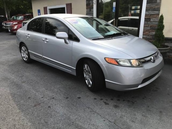 2007 Honda Civic Sedan 4dr AT LX $6,973 Gainesville, GA