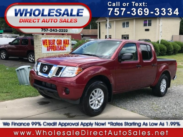 Nissan Richmond Va >> Used Nissan Frontier For Sale In Richmond Va 67 Cars From