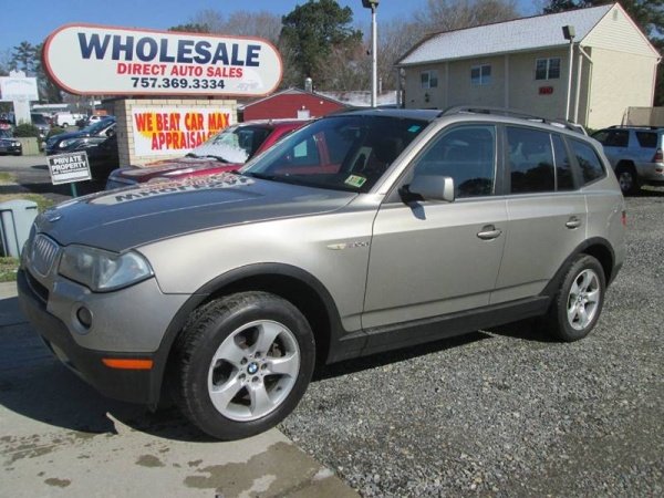 used bmw x3 for sale in virginia beach va u s news world report. Black Bedroom Furniture Sets. Home Design Ideas