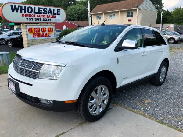 used lincoln mkx for sale in virginia beach va u s news world report. Black Bedroom Furniture Sets. Home Design Ideas