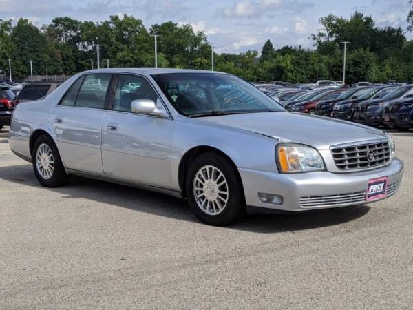 2003 cadillac deville 4dr sedan dhs for sale in des plaines il truecar truecar
