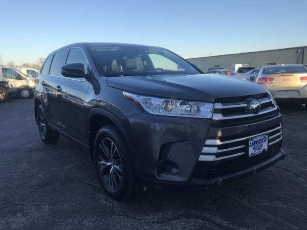 2018 Toyota Highlander LE V6