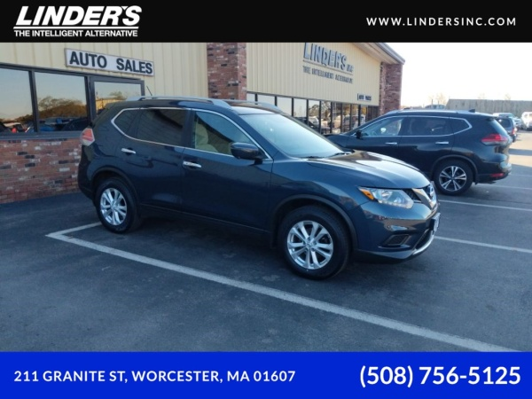 2016 Nissan Rogue in Worcester, MA