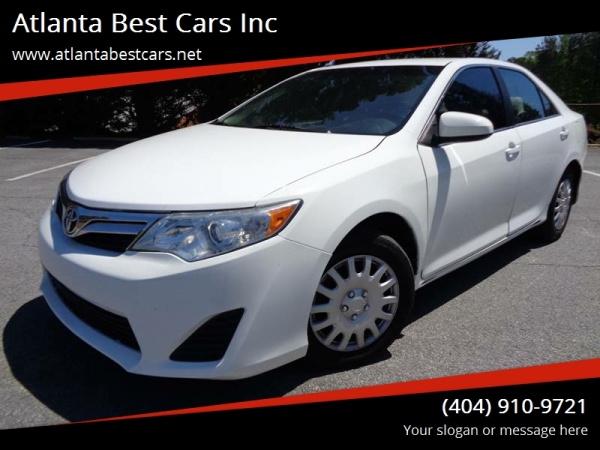 2012 Toyota Camry 4dr Sedan I4 Auto ... $8,995 Mableton, GA