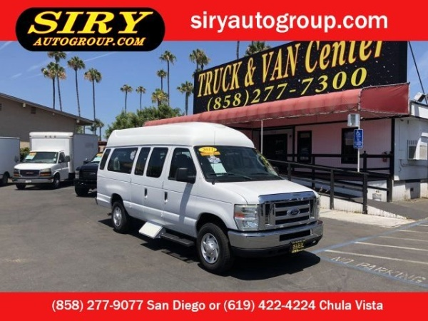 b2070af033 2011 Ford Econoline Cargo Van E-250 Ext Commercial For Sale in San ...