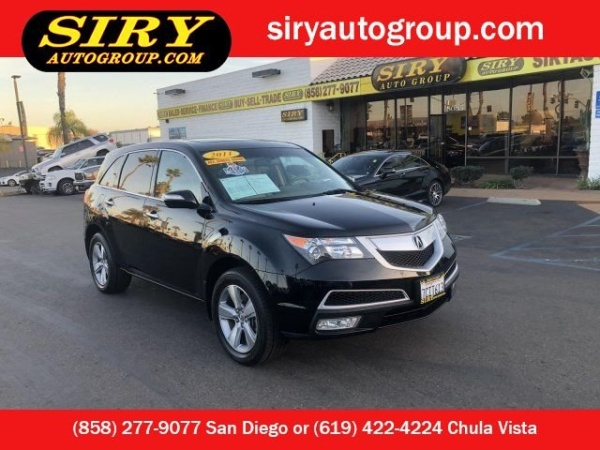 2011 Acura MDX in San Diego, CA