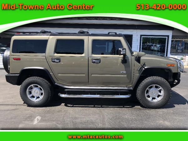 used hummer h2 for sale in cincinnati oh u s news world report. Black Bedroom Furniture Sets. Home Design Ideas