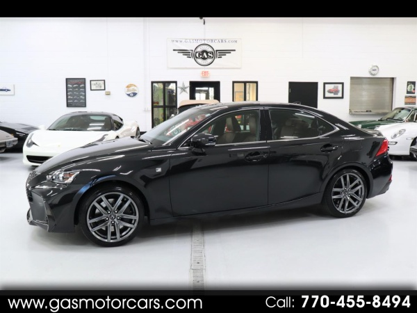 2018 Lexus IS IS 350 F Sport