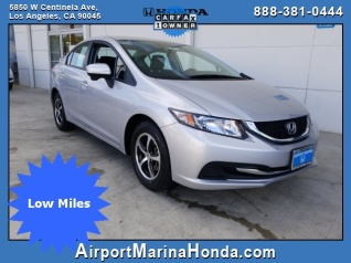 Used 2015 Honda Civic SE Sedan CVT For Sale In Los Angeles, CA