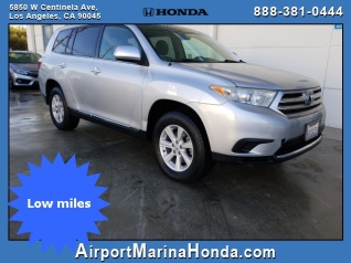 2017 Toyota Highlander I4 Fwd For In Los Angeles Ca
