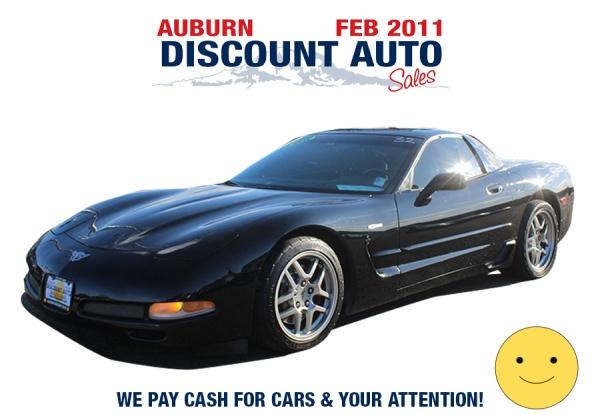 2003 Chevrolet Corvette in Auburn, WA