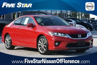Used 2014 Honda Accord EX L V6 Coupe Automatic For Sale In Florence, SC