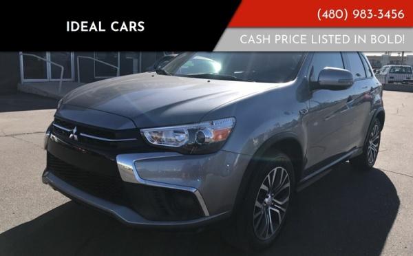 2018 Mitsubishi Outlander Sport ES 2 0 FWD CVT For Sale in Mesa, AZ