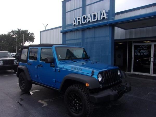 2015 Jeep Wrangler in LaBelle, FL