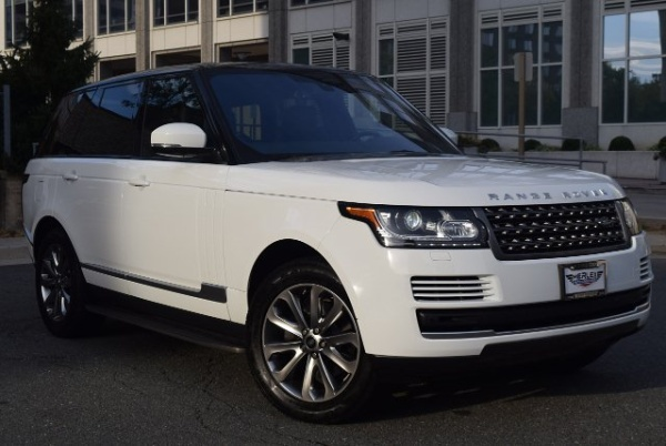 2016 Land Rover Range Rover Base
