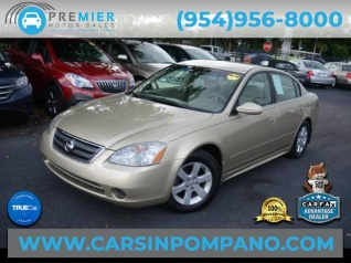 Used 2003 Nissan Altima 2.5 S Auto For Sale In Pompano Beach, FL