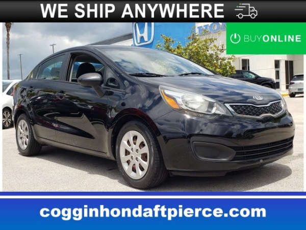Kia Fort Pierce >> 2013 Kia Rio Ex Sedan Automatic For Sale In Fort Pierce Fl