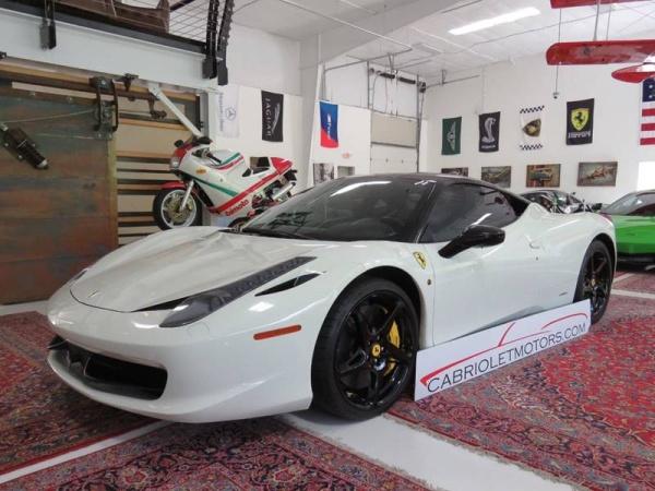 Ferrari Dealership Nc >> Used Ferrari 458 Italia For Sale In Durham Nc 37 Cars From