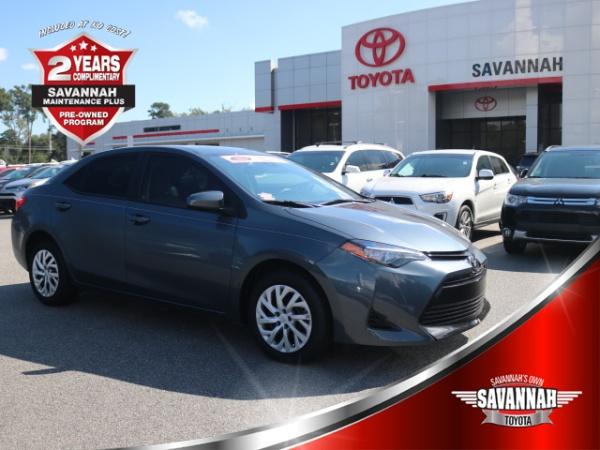 2017 Toyota Corolla In Savannah, GA