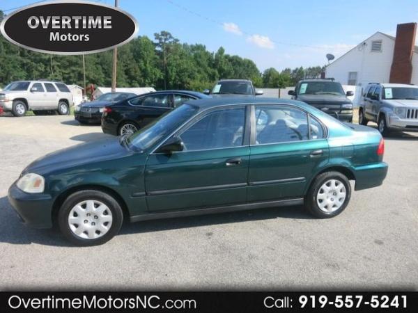 1999 Honda Civic Lx >> 1999 Honda Civic Lx Sedan Automatic For Sale In Raleigh Nc