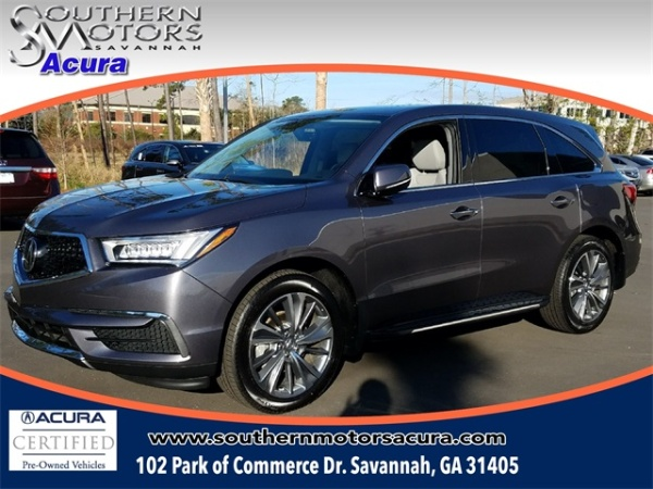2017 Acura MDX FWD with Technology Package