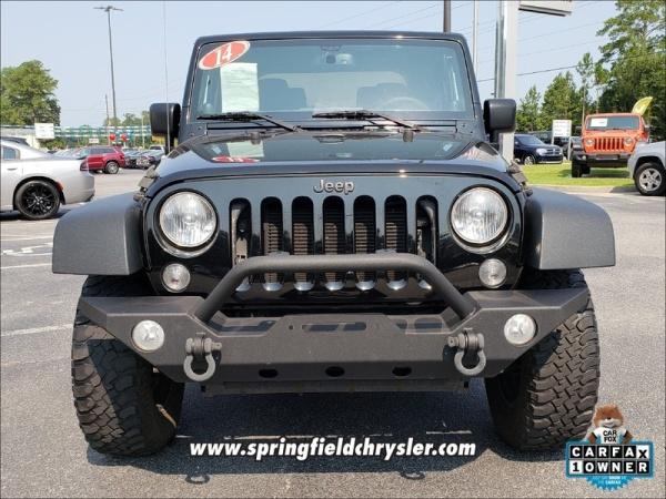 2014 Jeep Wrangler in Savannah, GA