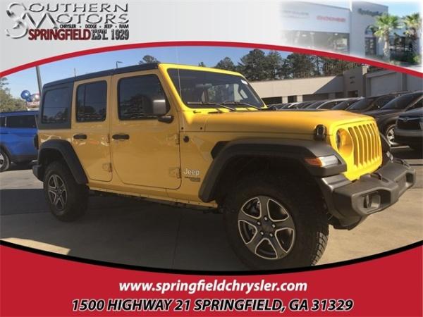 2019 Jeep Wrangler in Springfield, GA