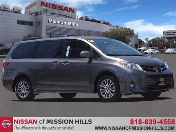 Toyota Mission Hills >> 2018 Toyota Sienna For Sale In Mission Hills Ca Truecar