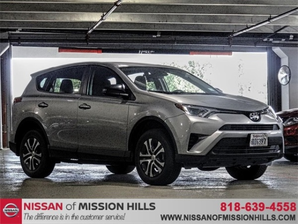 Toyota Mission Hills >> 2018 Toyota Rav4 Le Fwd For Sale In Mission Hills Ca Truecar