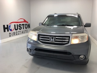 Used 2012 Honda Pilot Touring With Navigation/Rear Entertainment System FWD  For Sale In Houston