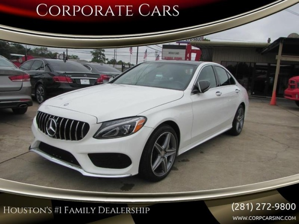 2015 Mercedes-Benz C-Class in Houston, TX