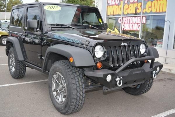 2012 Jeep Wrangler in Lynnwood, WA