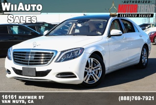 2017 Mercedes Benz S Cl 550 Sedan Rwd For In Van Nuys