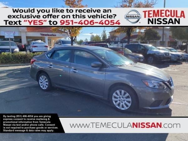 2016 Nissan Sentra in Temecula, CA