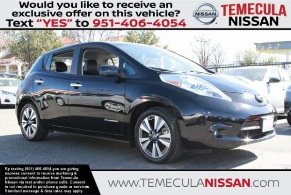2016 Nissan LEAF in Temecula, CA