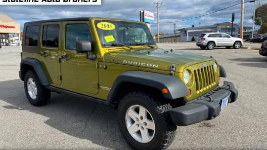 2008 Jeep Wrangler Unlimited Rubicon 4wd For Sale In Attleboro Ma Truecar
